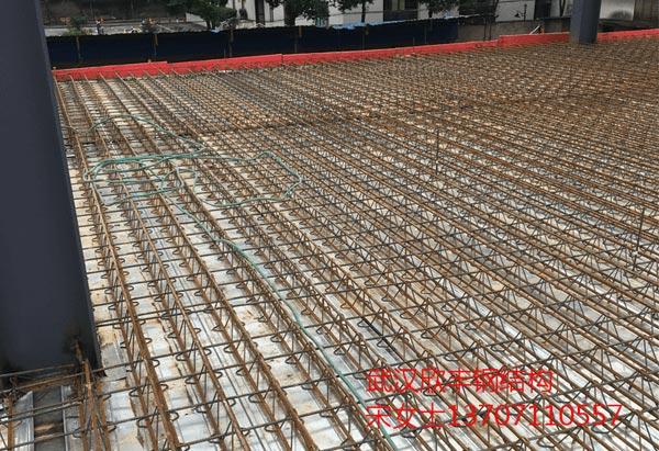 钢筋桁架楼承板案例